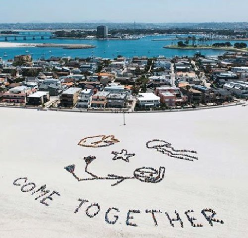 About Us Come Together Aerial Image
