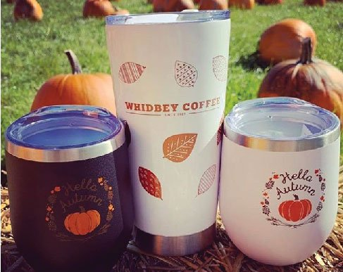 Whidbey Coffee Tumblers
