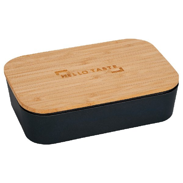 EcoSmart Bamboo Fiber Lunch Box with Cutting Board Lid - starts at $8.98 Image