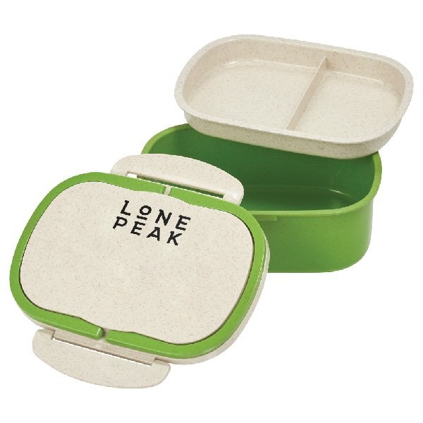 EcoSmart Plastic and Wheat Straw Lunch Box Container - starts at $4.98 Image
