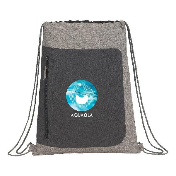Reclaim Recycled Drawstring Bag - starts at $8.98 Image