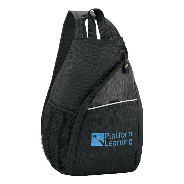 Tempo 100% Recycled PET Sling Backpack - starts at $10.98 Image
