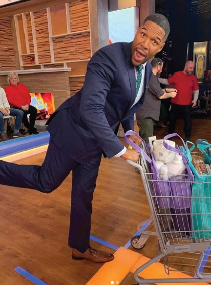 Lotus Trolley Bags and Michael Strahan