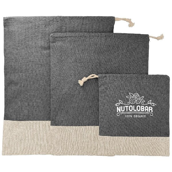 Split Recycled 3pc Travel Pouch Set - starts at $8.28 Image