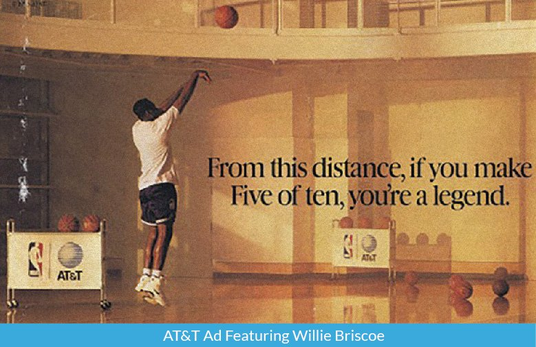 AT&T Ad Featuring Willie Briscoe