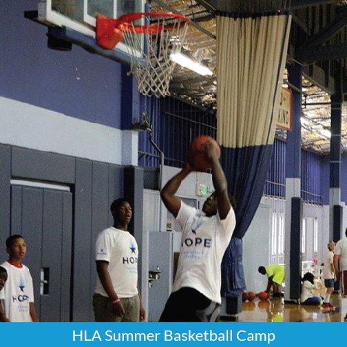 Hope Leadrship Academy-Summer Basketball Camp